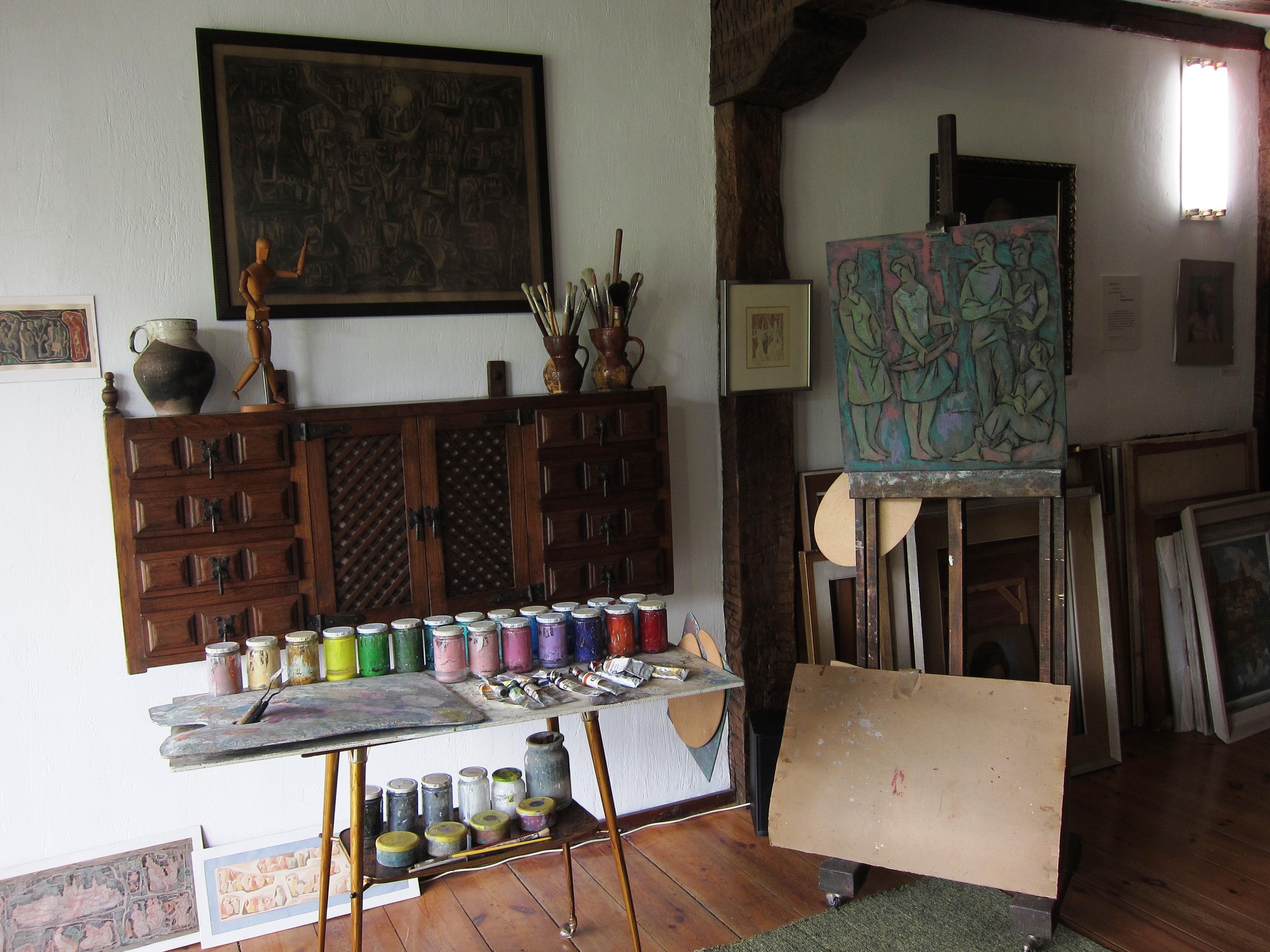 Visita guiada al Estudio del pintor Rodet Villa