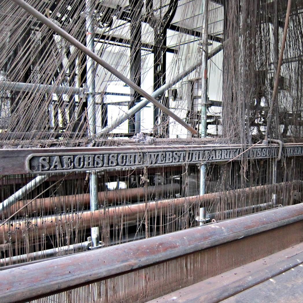 LA ENCARTADA (Balmaseda): Descubriendo el telar jacquard